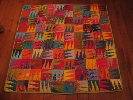 Triangle Quilt by LittleLucille