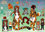 Kitty the Tiger | REFERENCE |::2ndfursona by PasteISpells