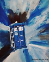 The Tardis by AluraRB