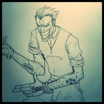 Joker Punk Style by Vanrogue