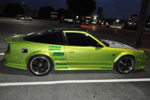 Lime Green 240sx by ticklemeimsexy