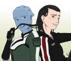 Shepard I Mustache you a question by canius
