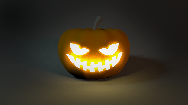 Halloween Test 3D Trick or Treat by GexANIMATOR