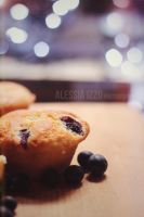 Blueberry muffin by Alessia-Izzo