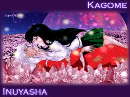 Inuyasha and Kagome by Novakaris