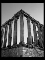 Temple of Diana. by b3llatrix