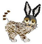 Zebra-bunny-cat of doom by Petz-Central