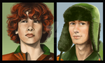 Kyle - Before and After by SUCHanARTIST13