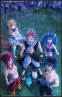 Fairy tail : Dream Team by diabolumberto