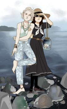 Seashore Gothic by kimitama