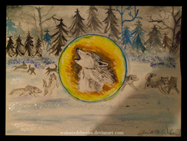 Winter Wolves 122111 by WeisseEdelweiss