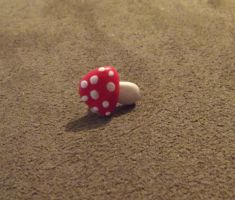 Toadstool stud by MeticulousBlue