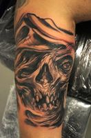 freestyle skull by graynd