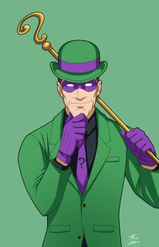 Riddler on the loose by phil-cho