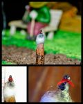Pencil carving 12 : Snowman.. by preethi524