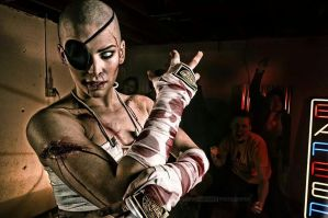 SAGAT - FIGHT CLUB by MissSinisterCosplay