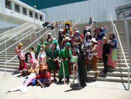 Anime Expo One Piece Gathering 12 by DelphiniumFleur