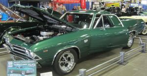 69 Chevy El Camino SS by zypherion