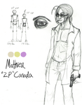 Hetalia: The Other Canada by katwarrior