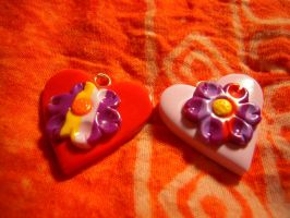 Fimo St. Valentine's special 2 by REDDISH-MUSE
