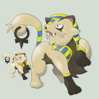 FAKEMON -ContestEntry- PHARIAN by mssingno