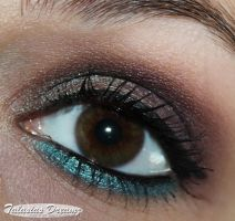brown and teal by Talasia85
