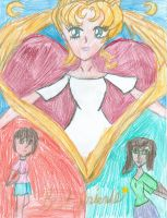 When Sailor Moon gave me a Friend by KittyChanBB