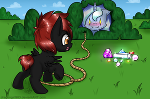 Commish: Hunting the hunter by DragonGirl983