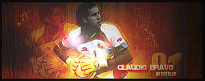 Claudio Bravo Keeper Chile by Tottigraph