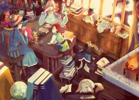 Howl's Moving Castle by elleinead