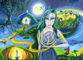 Sidhe knows the paths by Willowsmummy