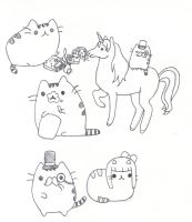 Pusheen Da kitten by GAGAISMYSOUL