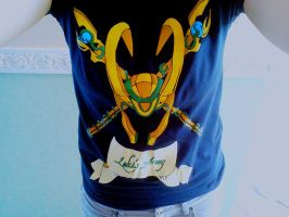 my loki's army shirt by Meriinu