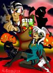 Ghouls, Goblins and Toonbots by gizmo01