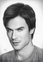 Ian Somerhalder by artistiq-me