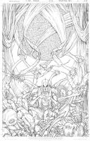 All New Soulfire #6 Cover A Pencils by vmarion07