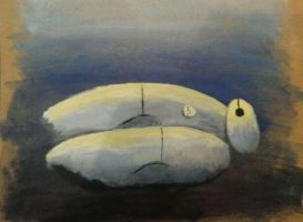 Baymax Test Painting by Aileen-Rose