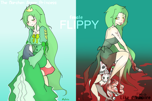 double Female Flippy by MakotoZhen