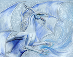 White dragon by The-Black-Panther