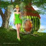 Fairies prefer green! by BubbleCloud