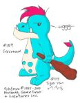 Cave Croconaw by the-striped-fox