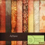 autumn-paper street designs by paperstreetdesigns
