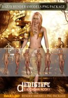 DAZ3D Render 6models Pack by SK-DIGIART