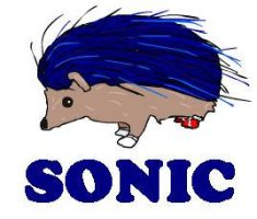sonic the hedgehog by Sonny-Daze