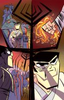 Samurai Jack issue 5 pg4 by dcjosh