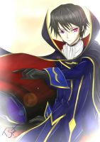 Lelouch vi Brittania by talespirit