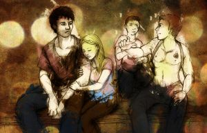 Family in time of crisis by Lolryne