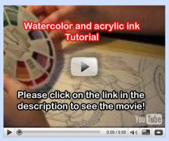 Watercolor Tutorial Video 2 by lady-cybercat