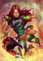 Jean Grey by adagadegelo