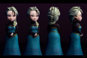 Mini Elsa by gukgukngeong